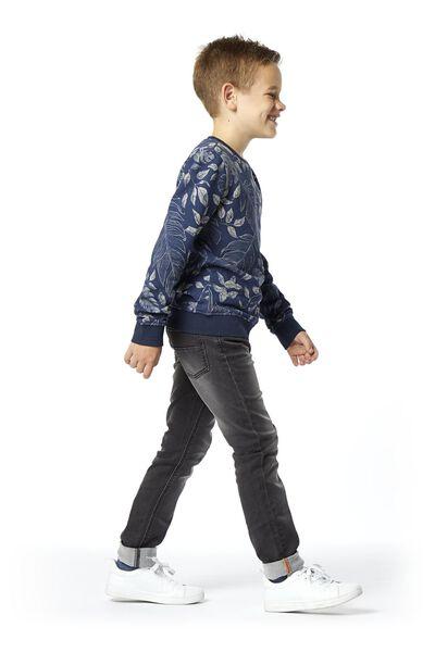 kindersweater grijsmelange grijsmelange - 1000020205 - HEMA