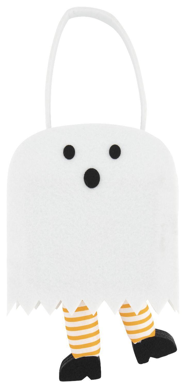 HEMA Vilt Tasje 7x14x12 - Halloween Spook