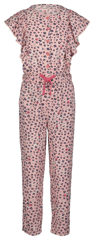 HEMA Kinderjumpsuit Met Ruffle Roze (roze)