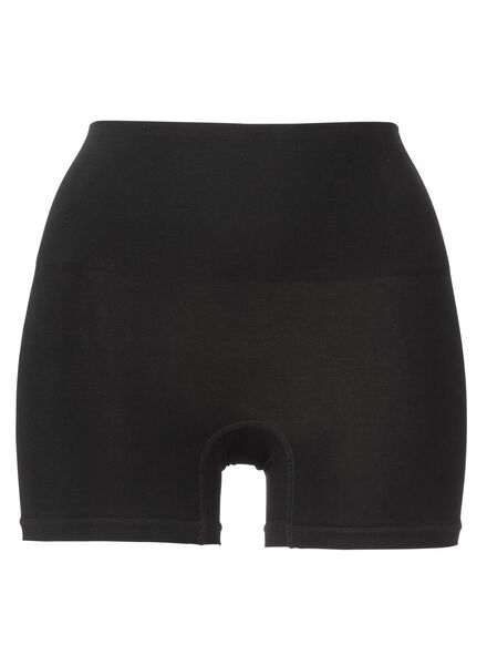 corrigerende damesboxer zwart zwart - 1000002369 - HEMA