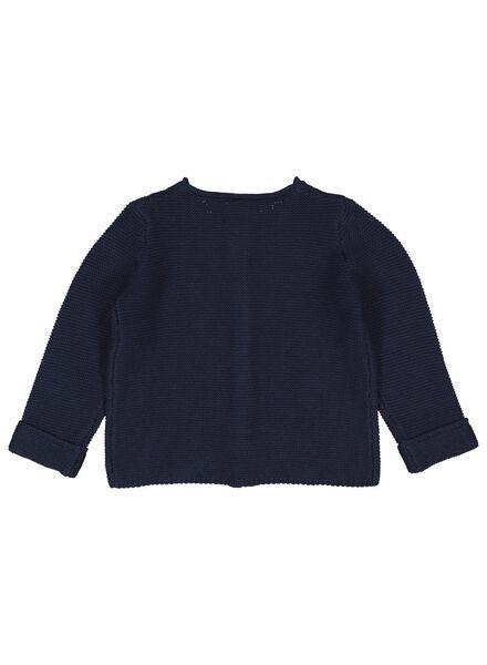 babyvest blauw blauw - 1000014312 - HEMA
