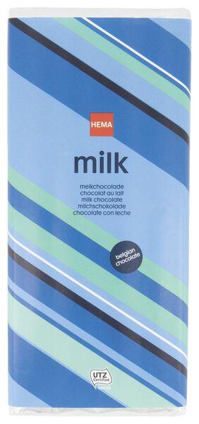 chocoladereep melk - 200 gram - 10371014 - HEMA