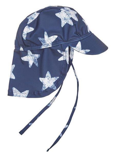 baby zonnepetje UPF 50 bescherming donkerblauw donkerblauw - 1000012679 - HEMA