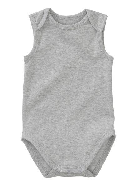 romper grijsmelange grijsmelange - 1000012138 - HEMA