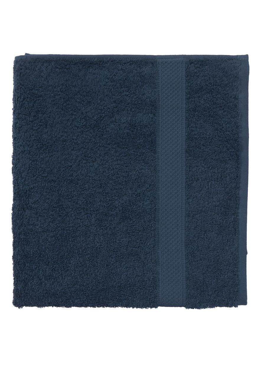 72742adda05 afbeeldingen handdoek - 70 x 140 cm - zware kwaliteit - denim uni - 5240182  - HEMA
