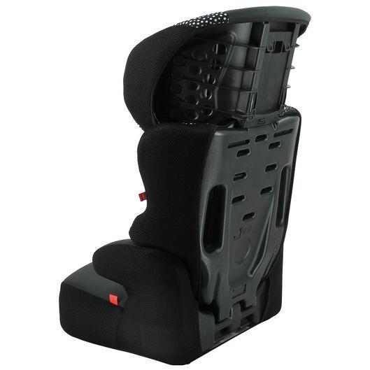 autostoel junior 15-36kg zwart/witte stip - 41700006 - HEMA