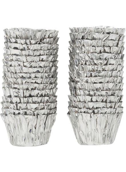 kaarsenhulzen - zilver - 30 stuks - 13504500 - HEMA