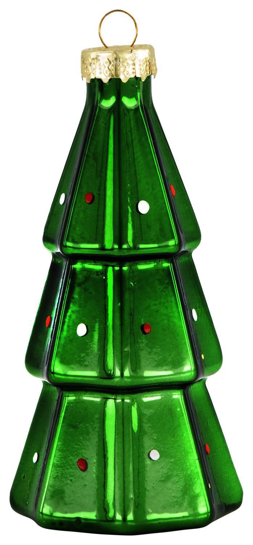 HEMA Kerstbal Glas 10cm Kerstboom