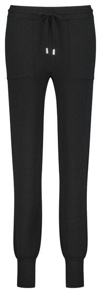 dames loungebroek zwart M - 36249716 - HEMA