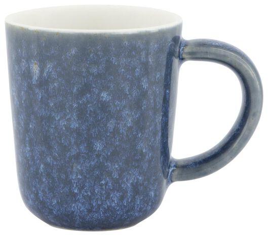 espressomok Chicago 80 ml reactief glazuur blauw - 9602154 - HEMA