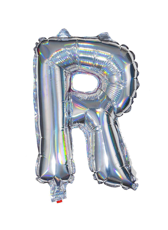 HEMA Folieballon R - Zilver (multi)