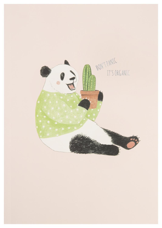 HEMA Schrift 25.5x18 Gelinieerd Panda