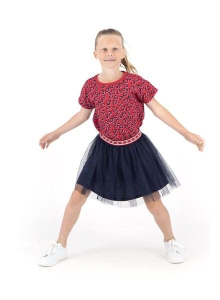 kinder t-shirt rood rood - 1000013545 - HEMA