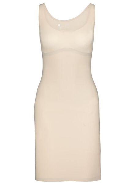 jurk second skin beige M - 21500132 - HEMA