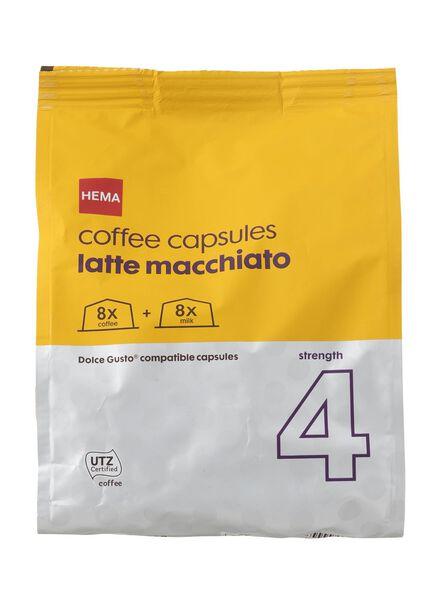koffie capsules latte macchiato - 17110021 - HEMA