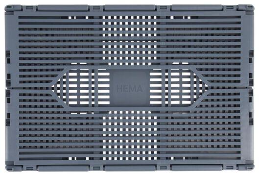 klapkratje letterbord recycled 20x30x11.5 - blauw middenblauw 20 x 30 x 11,5 - 39822186 - HEMA