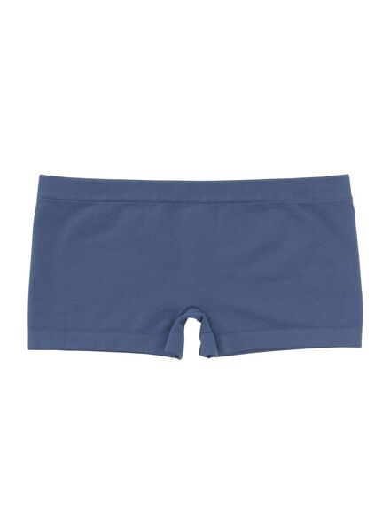 2-pak kinderboxers - naadloos donkerblauw donkerblauw - 1000006516 - HEMA