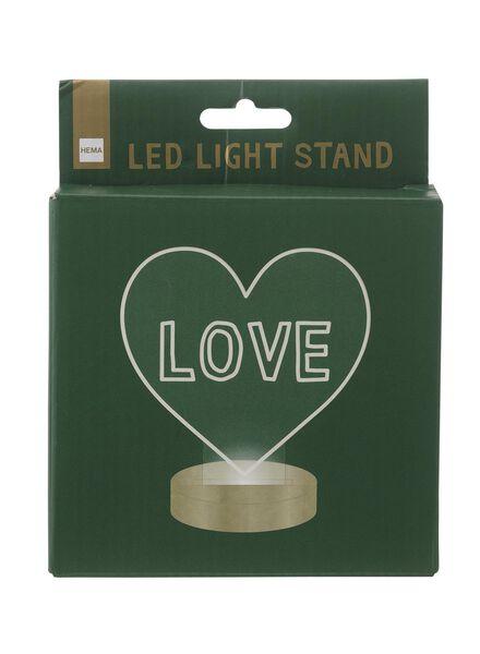 standaard Ø 12 cm voor LED lichtplaat - 60100416 - HEMA
