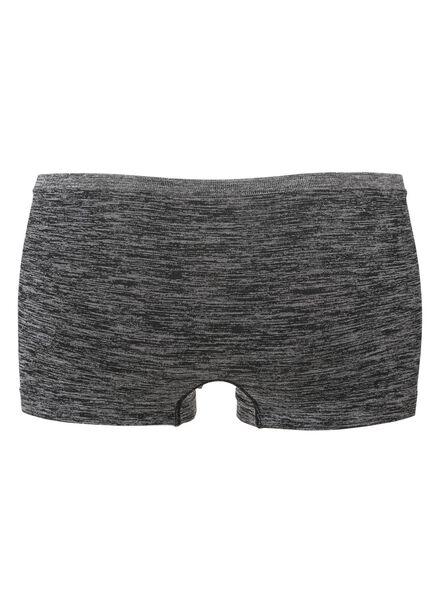 damesboxer naadloos micro grijsmelange grijsmelange - 1000012292 - HEMA