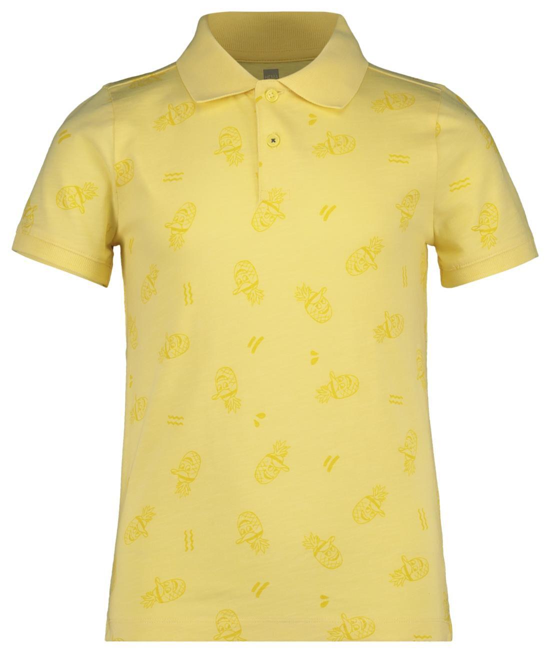 HEMA Kinder Poloshirt Geel (geel)