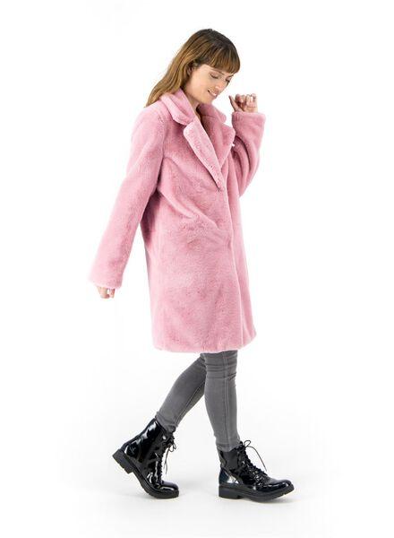 damesjas roze roze - 1000017065 - HEMA