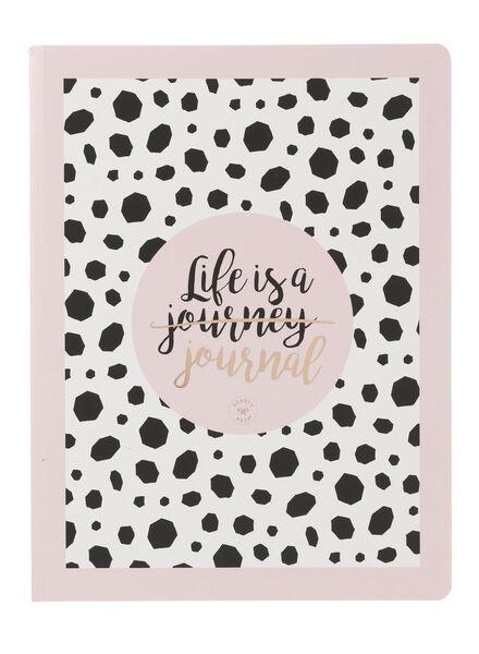 Beautynezz notitieboek A5 gelinieerd - 14940184 - HEMA