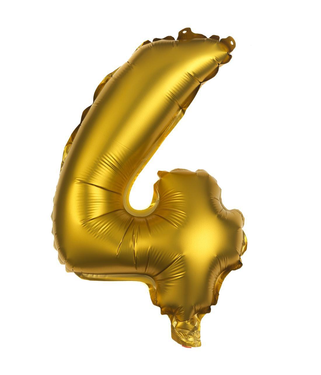 HEMA Folie Ballon 4 (goud)