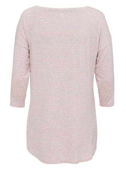 dames pyjamatop viscose grijsmelange grijsmelange - 1000011756 - HEMA