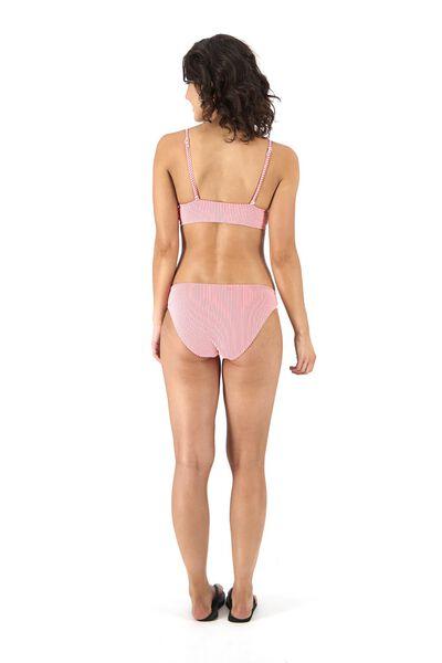 dames bikinislip roze XS - 22311221 - HEMA