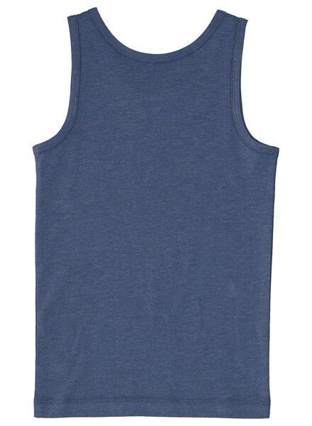 2-pak kinderhemden donkerblauw donkerblauw - 1000014974 - HEMA
