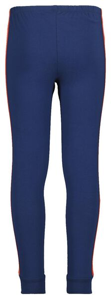 kinderpyjama blauw blauw - 1000018481 - HEMA