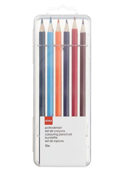 12-pak kleurpotloden - 14470037 - HEMA