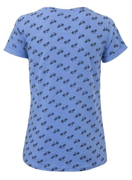 dames t-shirt felblauw felblauw - 1000003312 - HEMA