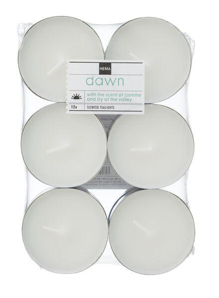 12-pak maxi geur sfeerlichten dawn - 13502321 - HEMA