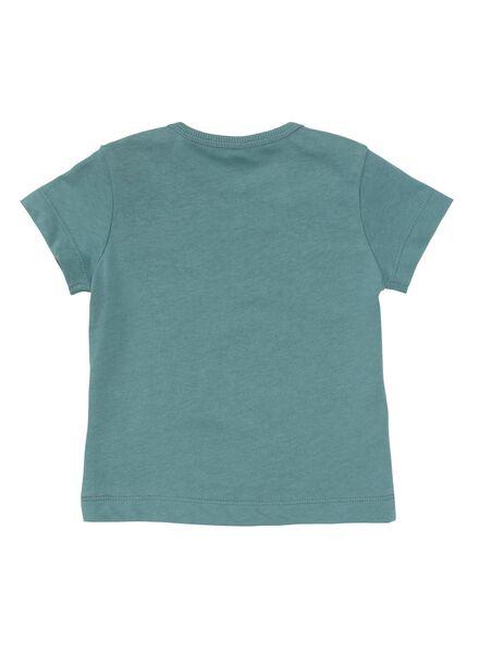 2-pak baby t-shirts blauw blauw - 1000010852 - HEMA