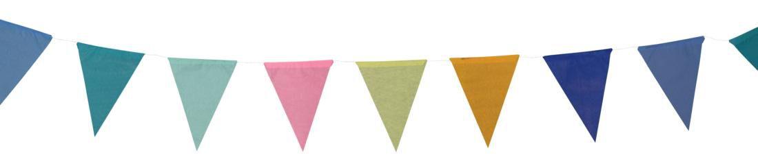 HEMA Vlaggenlijn Papier - 10 Meter
