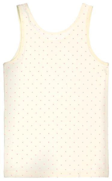 kinderhemden bloemen katoen/stretch - 2 stuks lichtroze 110/116 - 19340553 - HEMA