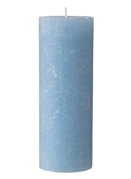 rustieke kaarsen blauw blauw - 1000015369 - HEMA