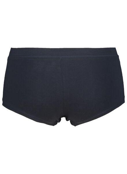 damesboxer real lasting coton blauw blauw - 1000014519 - HEMA