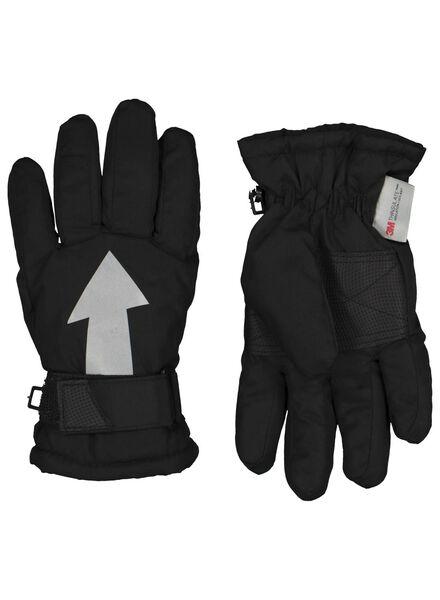 kinderhandschoenen zwart zwart - 1000015337 - HEMA