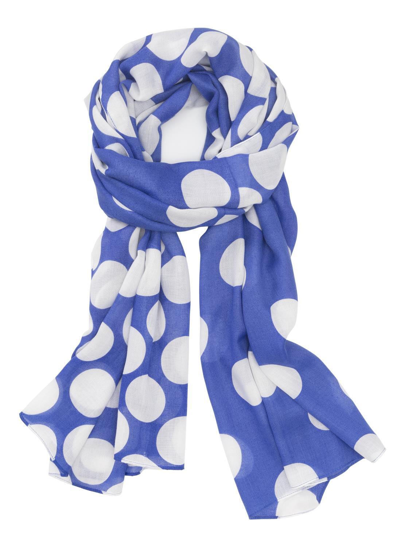 HEMA Damessjaal (zeeblauw)