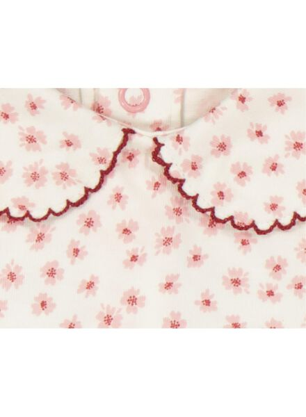 romper biologisch katoen roze roze - 1000017227 - HEMA