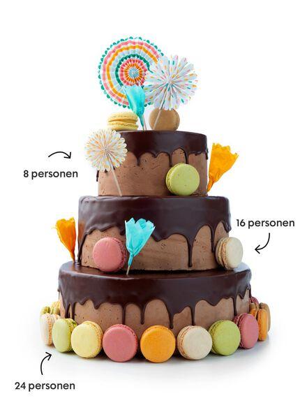 dripcake chocolade 8 p. - 6330039 - HEMA