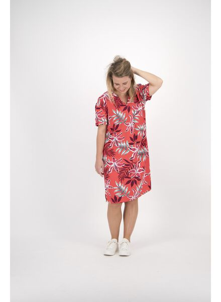 damesjurk rood rood - 1000013904 - HEMA