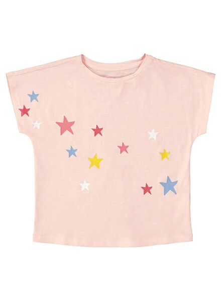 kinder t-shirt roze roze - 1000013548 - HEMA