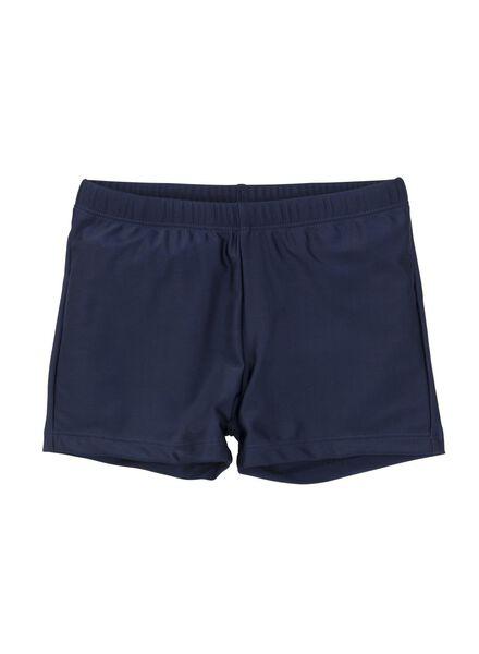 jongens zwembroek blauw blauw - 1000002658 - HEMA