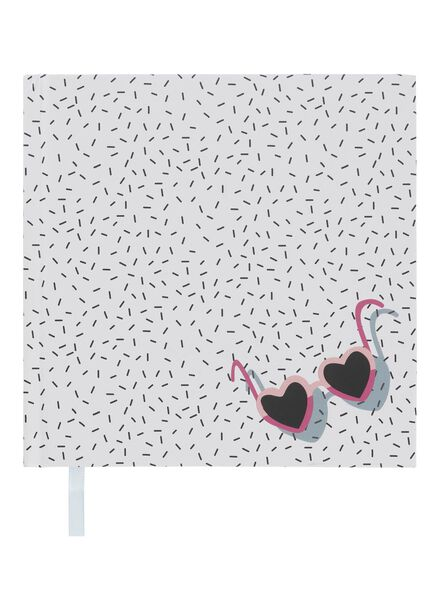 notitieboek 15,5 x 15,5 cm blanco - 60700483 - HEMA