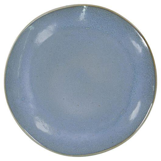HEMA Dinerbord - 26 Cm - Porto - Reactief Glazuur - Blauw (blauw)