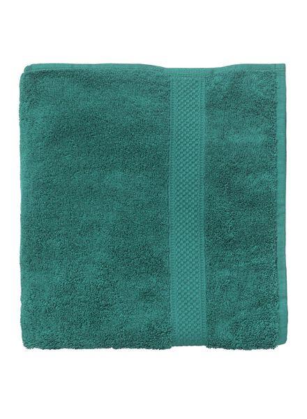 baddoek zware kwaliteit 140 x 70 - donkergroen - 5240024 - HEMA