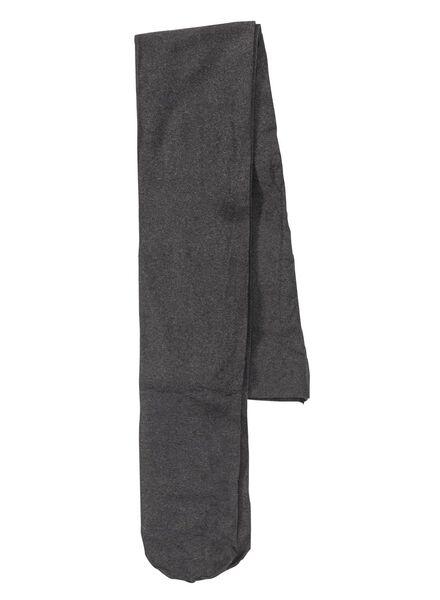 2-pak kindermaillot 40 denier grijsmelange grijsmelange - 1000001838 - HEMA